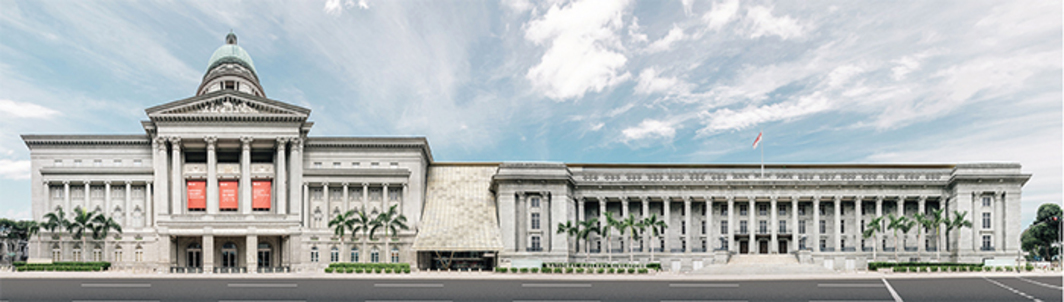 the new Singapore National Gallery