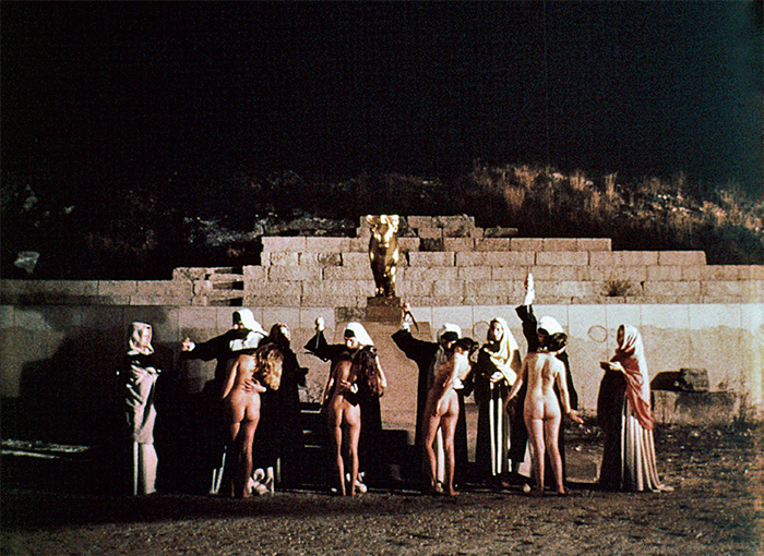 Jean-Marie Straub and Danièle Huillet, Moses und Aron (Moses and Aaron), 1975, 35 mm, color, sound, 105 minutes.