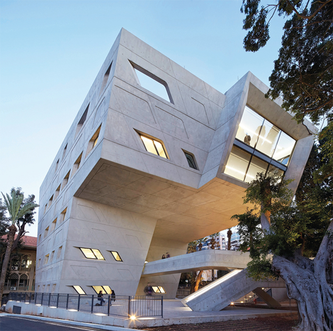 Zaha Hadid Architects, Issam Fares Institute for Public Policy and International Affairs, 2014, American University of Beirut. Photo: Hufton Crow. © Zaha Hadid Architects.