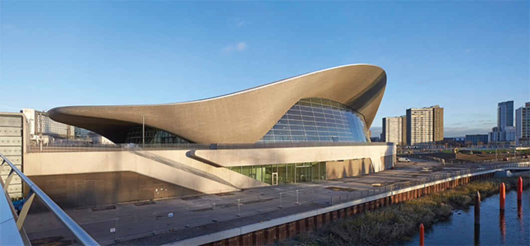 Zaha Hadid Architects, London Aquatics Centre, 2011, London. Photo: Hufton + Crow. © Zaha Hadid Architects.