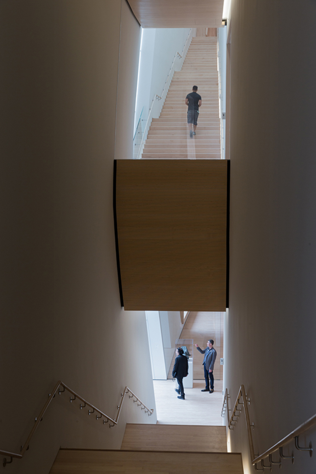 City Gallery stairs in SF MOMA. Photo: Iwan Baan.