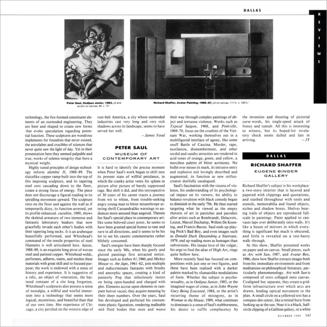 Reviews Artforum International