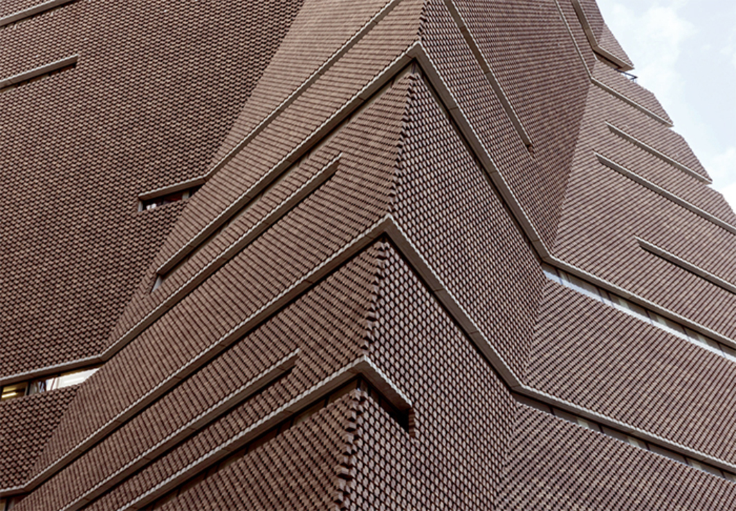 Herzog & de Meuron, Tate Modern addition, 2016, London. Photo: Iwan Baan.