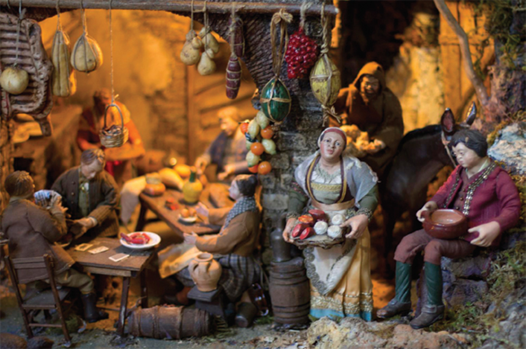 *Neapolitan nativity scene, Sorrento, Italy, 2010.* Photo: Royal Olive/Flickr.