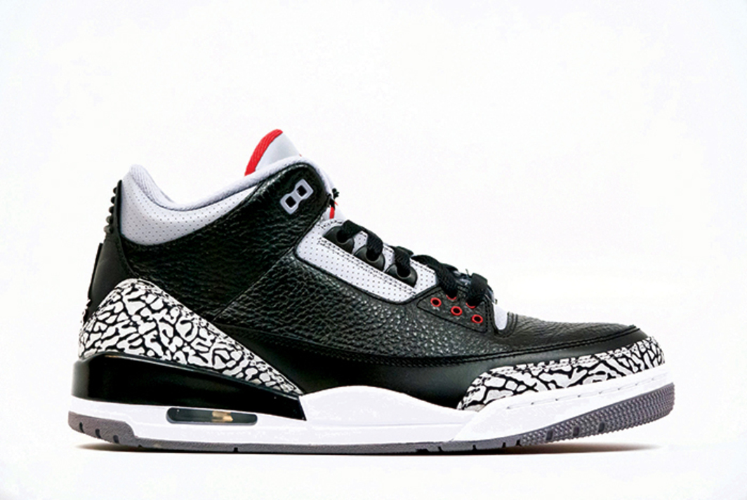 Nike Air Jordan 3 Retro Black Cement CDP, 2008.