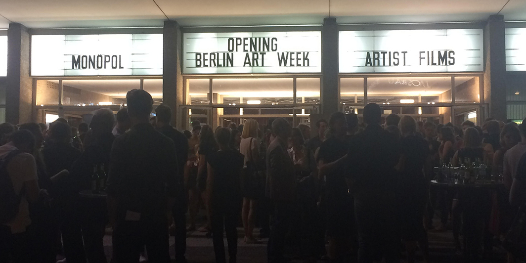 Berlin Art Week. (All photos: Louisa Elderton)