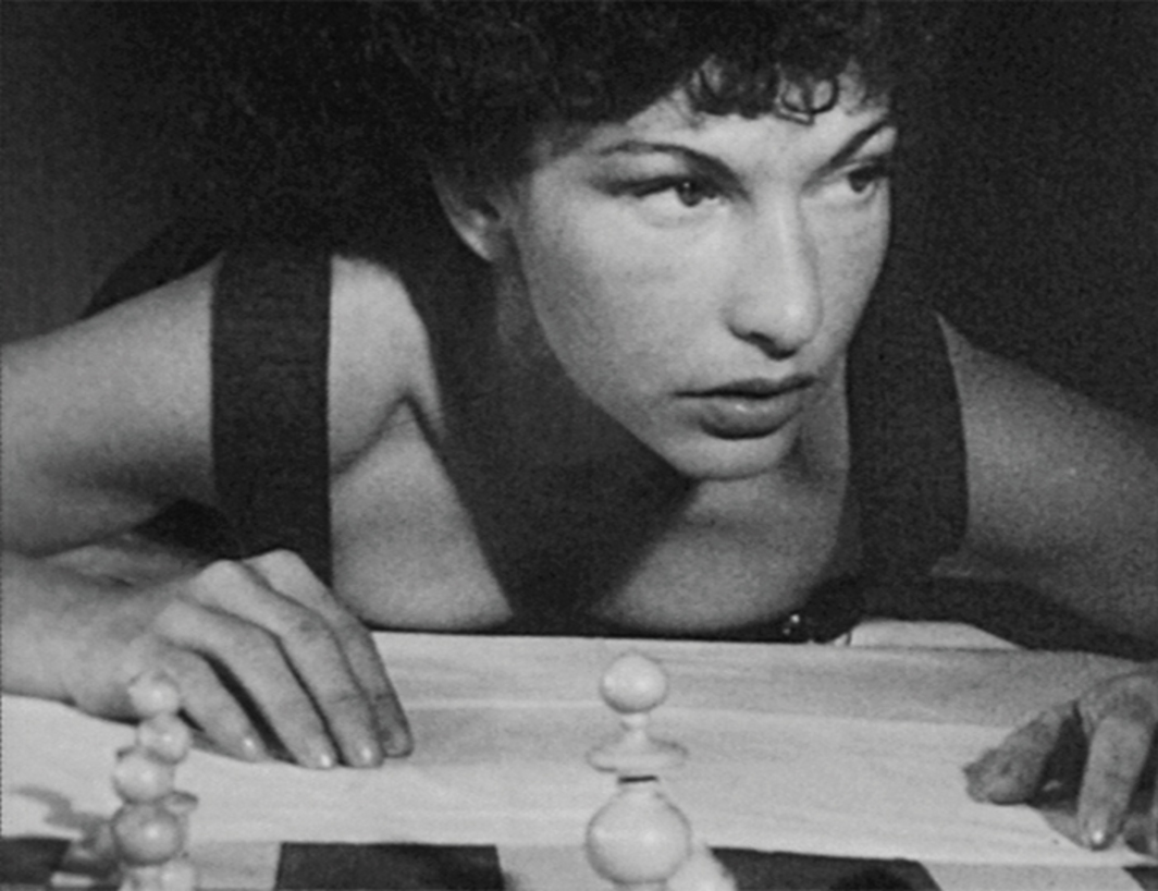Maya Deren, At Land, 1944, 16 mm, black-and-white, silent, 15 minutes. Maya Deren.