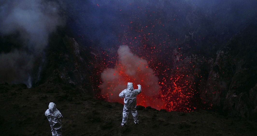 Werner Herzog and Clive Oppenheimer, Into the Inferno, 2016, HD video, color, sound, 104 minutes.