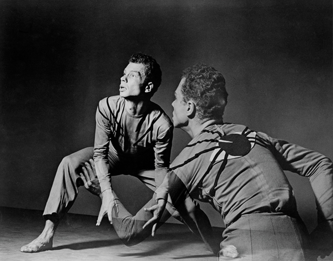 Merce Cunningham, Root of an Unfocus, 1944. Performance view, Studio Theatre, New York, April 5, 1944. Merce Cunningham. Photo: Barbara Morgan.