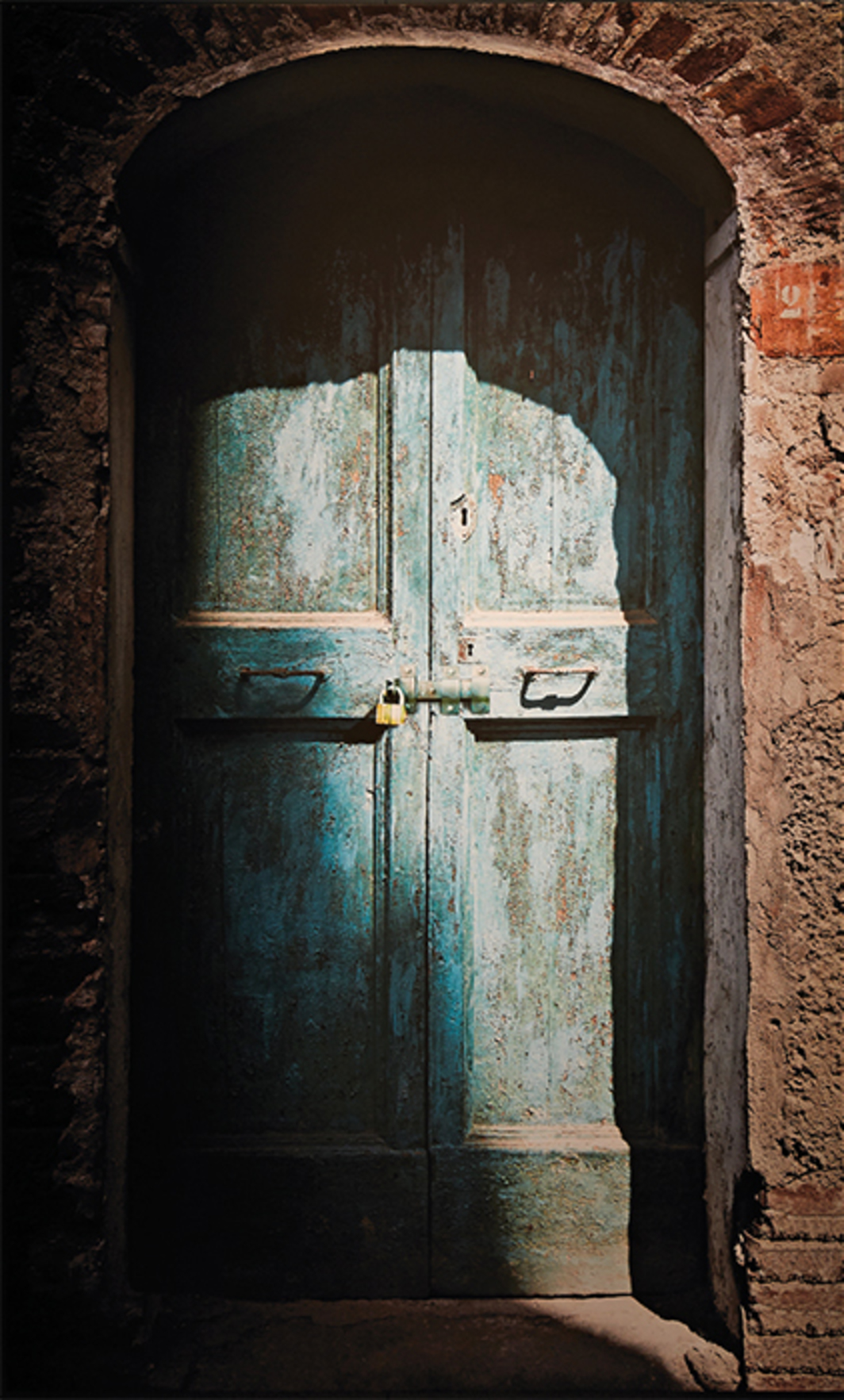 Abbas Kiarostami, Doors Without Keys (detail), 2015, fifty digital prints on canvas, audio, dimensions variable.