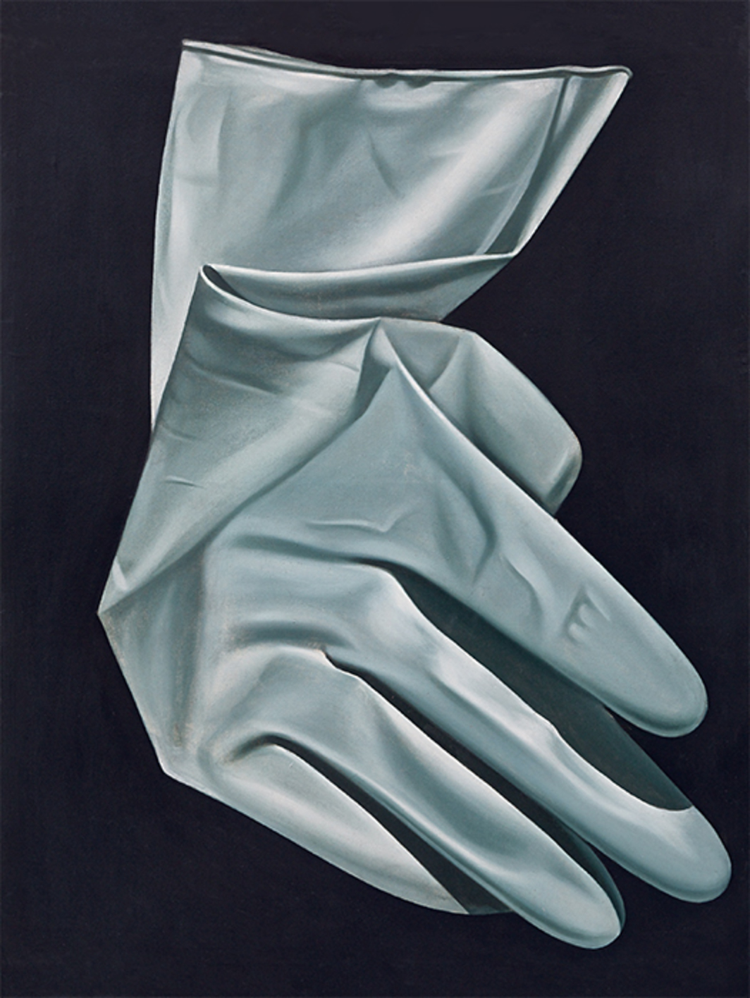 "Zhang Peili, X?, 1987, oil on canvas, 39 × 31 1/4"". From the series ""X?,"" 1986–87."