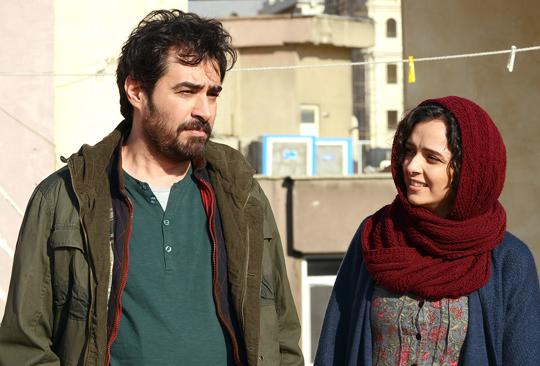 Asghar Farhadi, The Salesman, 2016, HD video, color, sound, 125 minutes. Emad and Rana (Shahab Hossein and Taraneh Alidoosti).