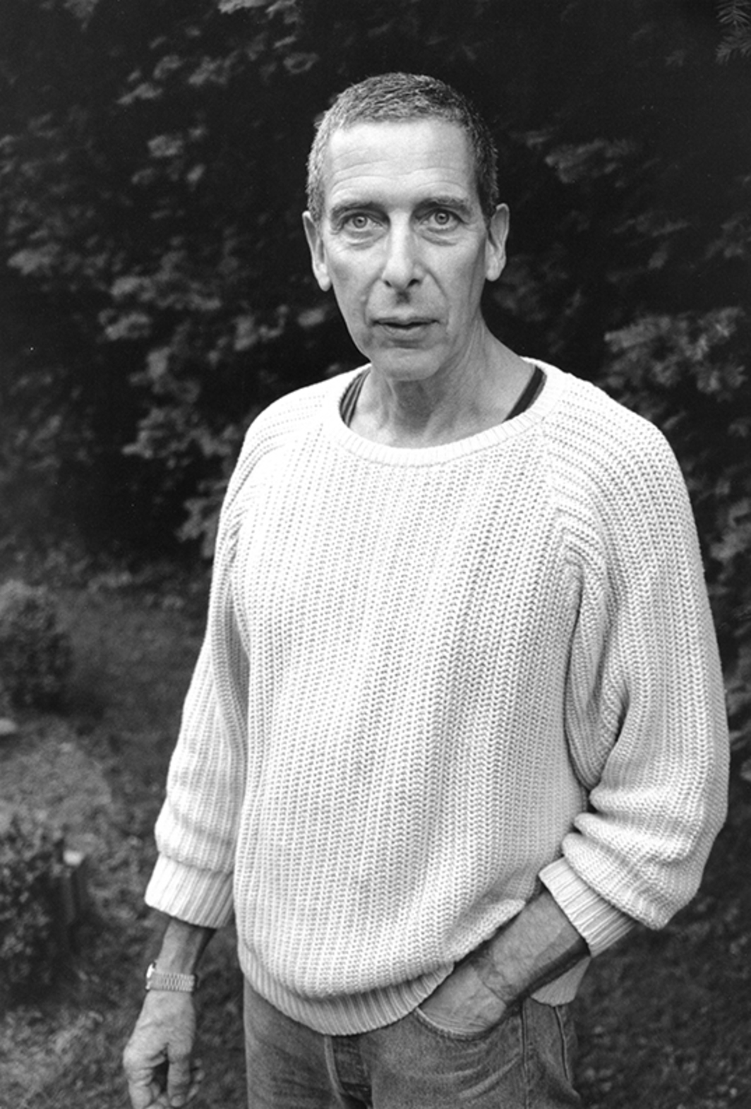 Klaus Kertess, 1996. Photo: John Jonas Gruen. © Estate of John Jonas Gruen.
