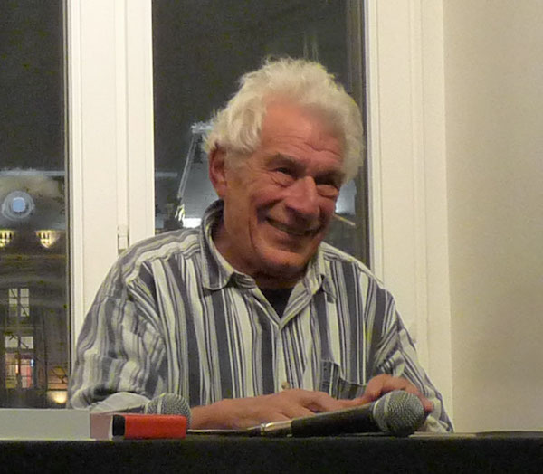 John Berger, 2009. Photo: Wikimedia commons user Ji-Elle.