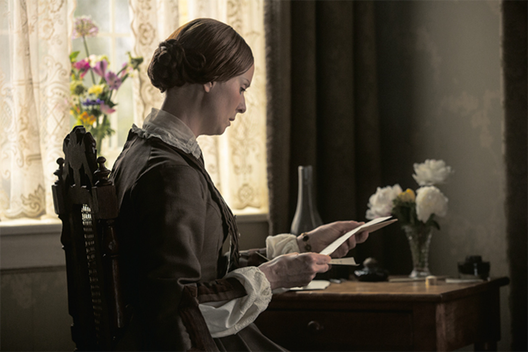 Terence Davies, A Quiet Passion, 2016, 4K video, color, sound, 126 minutes. Emily Dickinson (Cynthia Nixon).