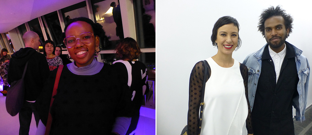 Left: FGAP nominee Dineo Seshee Bopape. Right: FGAP nominees Carla Chaim and EJ Hill.
