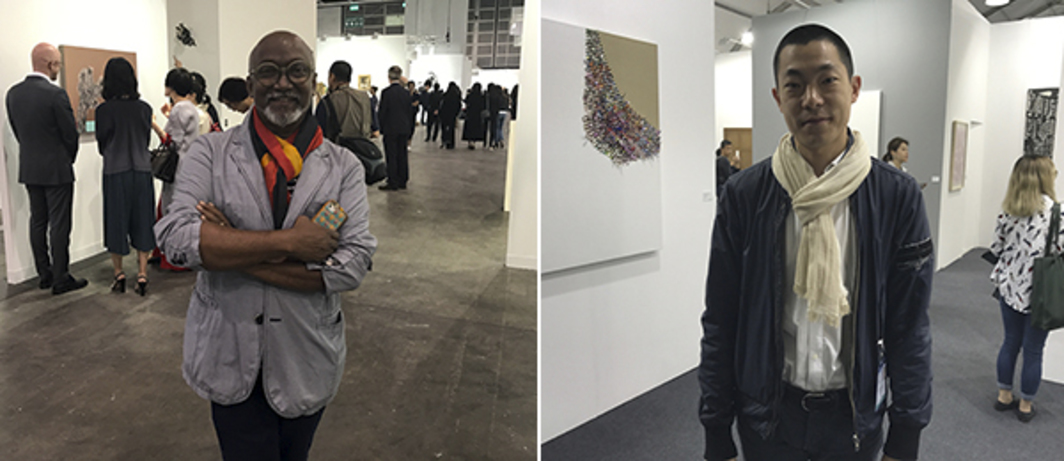 Left: Kochi-Muziris biennial founder Bose Krishnamachari. Right: Gallery Hyundai's Lee Wonjoon.
