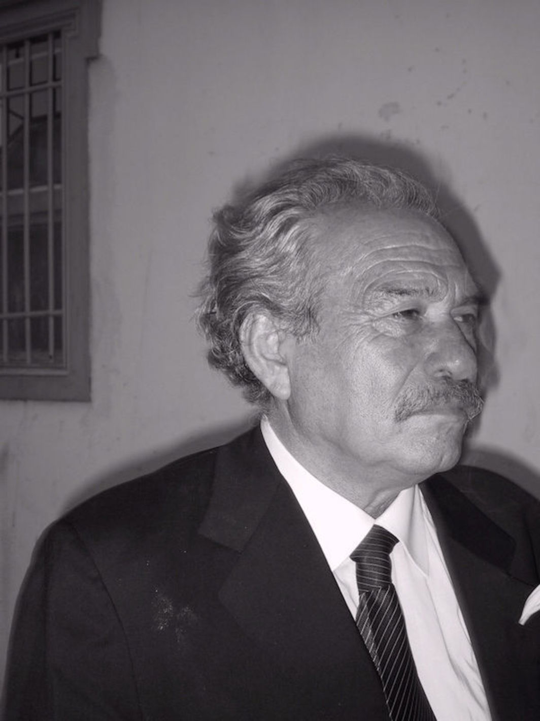 Jannis Kounellis, 2004. Photo: Flickr user Gabuchan.