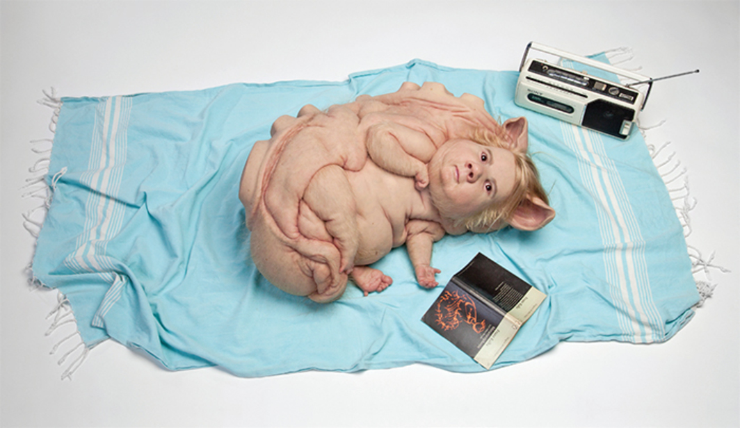 Patricia Piccinini, Teenage Metamorphosis, 2016, silicone,