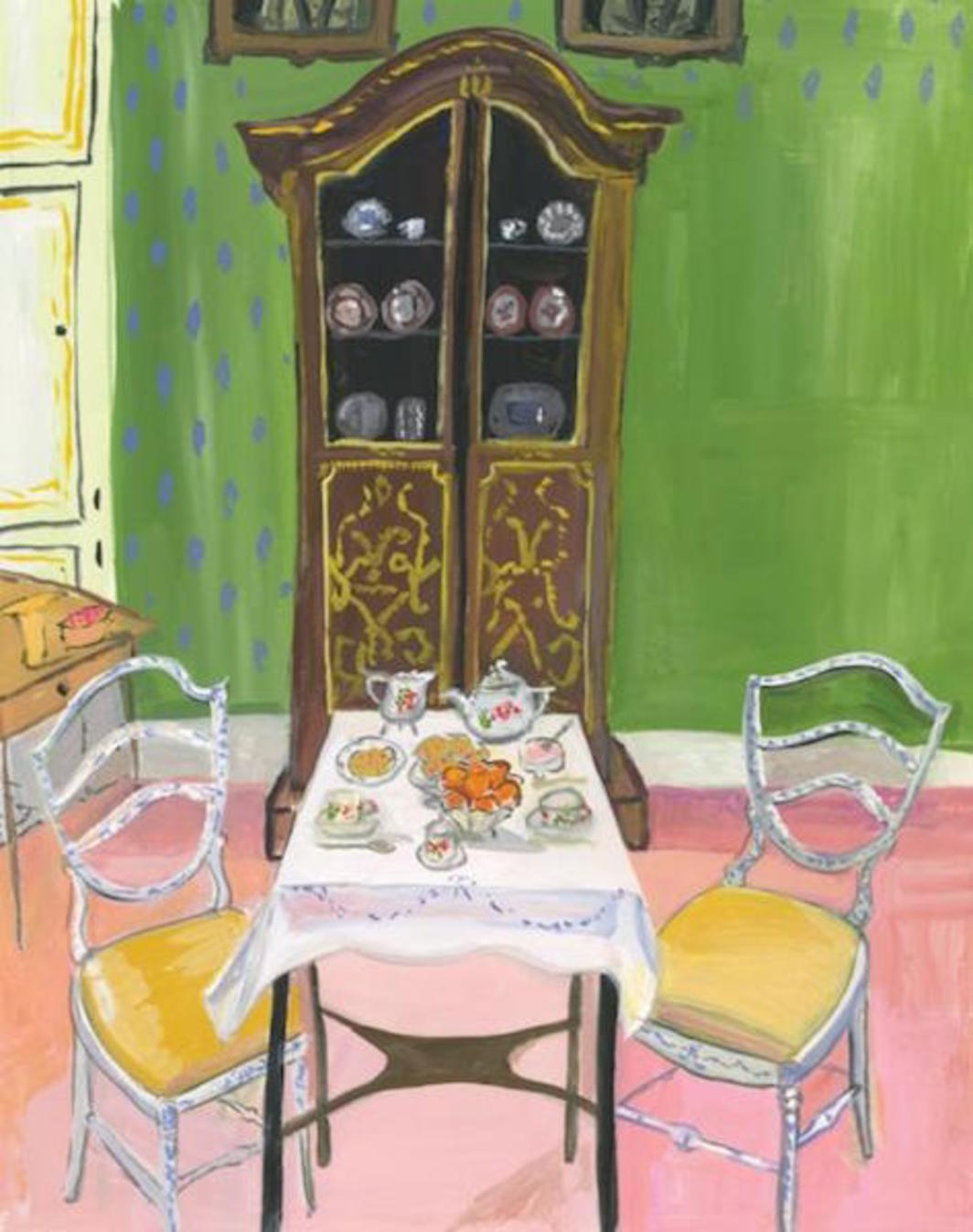 New Yorker December 1995 Metal Print by Maira Kalman. All metal prints are  professionally printed, packaged, and shipped within 3 - 4 business days  and ...