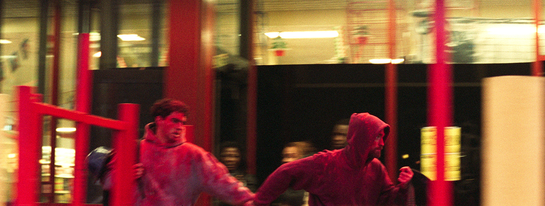 Bennie and Josh Safdie, Good Time, 2017, 35 mm, color, sound, 100 minutes. Nick Nikas and Connie Nikas (Bennie Safdie and Robert Pattinson).