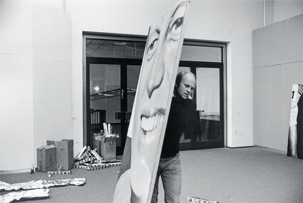 James Rosenquist, Cologne, 1972. Photo: Angelika Platen.