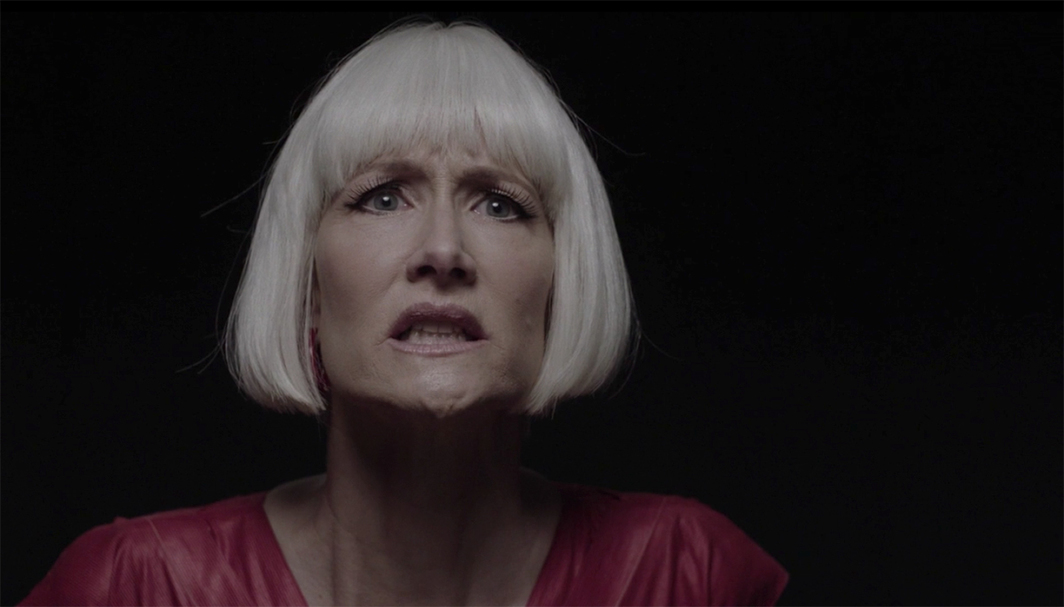 Twin Peaks: The Return, 2017, still from a TV show on Showtime. Season 3. Diane Evans (Laura Dern).