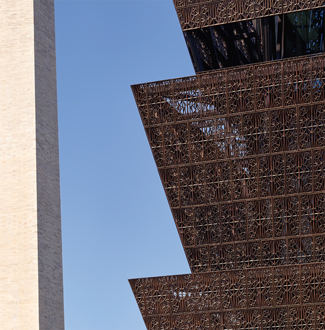 Adjaye Associates, National Museum of African American History and Culture, 2016, Washington, DC. Photo: Alan Karchmer.