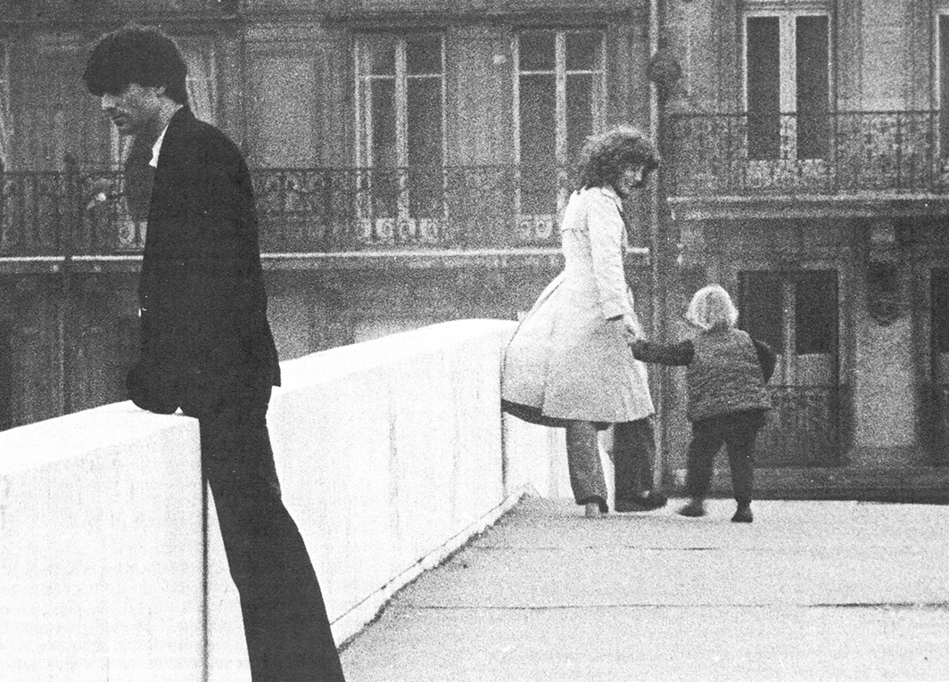 Philippe Garrel, L'enfant secret (The Secret Child), 1979, 16 mm, black-and-white, sound, 92 minutes. Jean-Baptiste and Elie (Henri de Maublanc and Anne Wiazemsky).