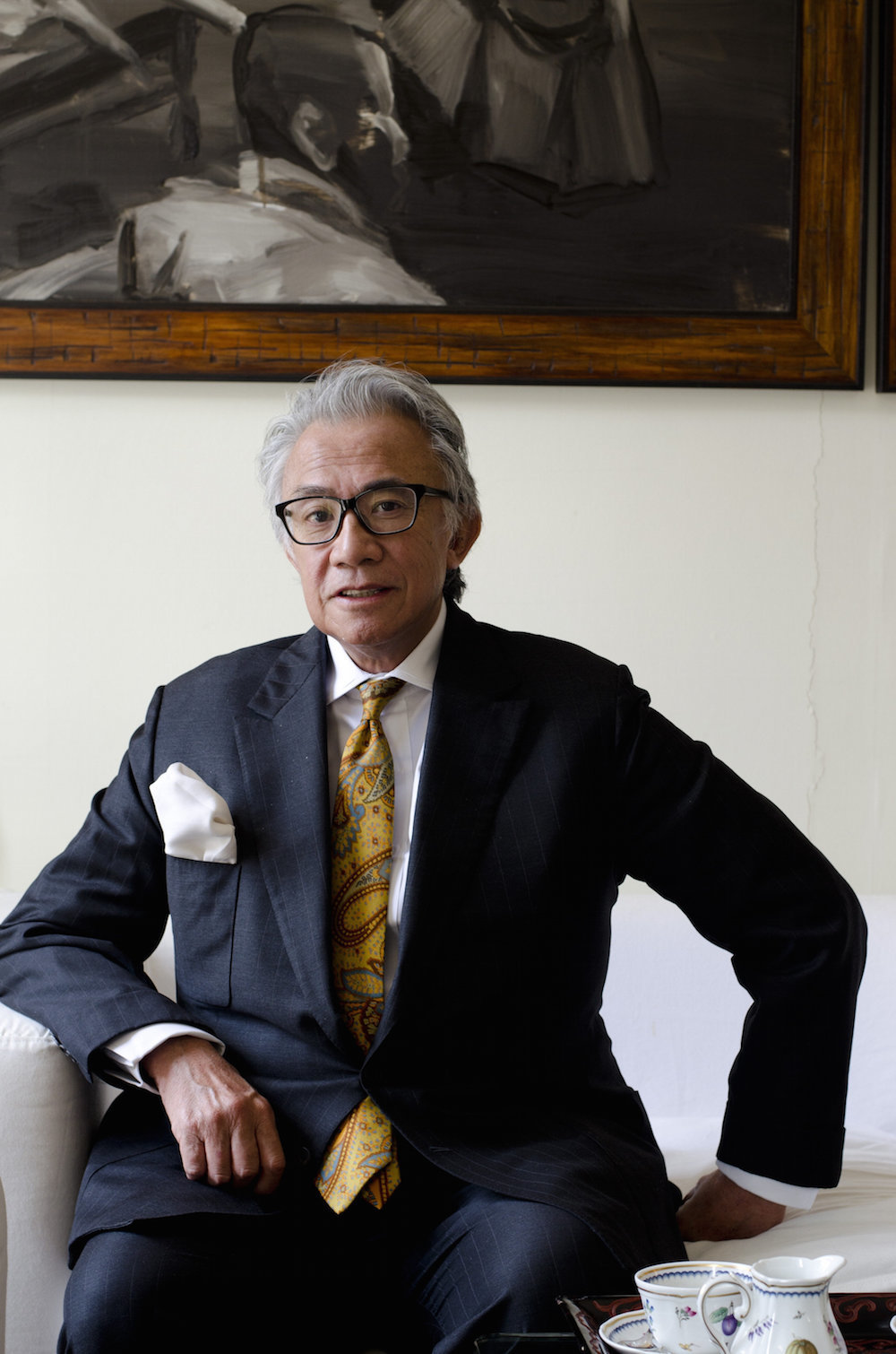 David Tang. Photo: Victoria Birkinshaw.