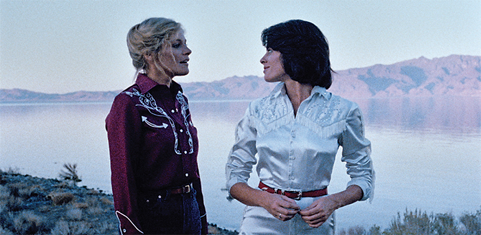 Donna Deitch, Desert Hearts, 1985, 35 mm, color, sound, 91 minutes. Vivian Bell (Helen Shaver) and Cay Rivvers (Patricia Charbonneau).