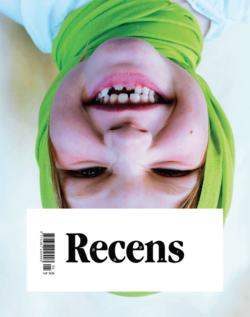 Cover of Recens Paper 5 (2016).