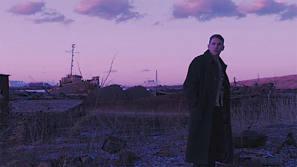 Paul Schrader, First Reformed, 2017, 2K video, color, sound, 108 minutes. Ernst Toller (Ethan Hawke).