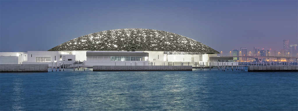 Ateliers Jean Nouvel, Louvre Abu Dhabi, 2017. Photo: Mohamed Somji.