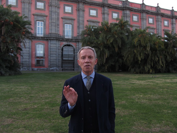 Sylvain Bellenger, director of the Museo di Capodimonte.