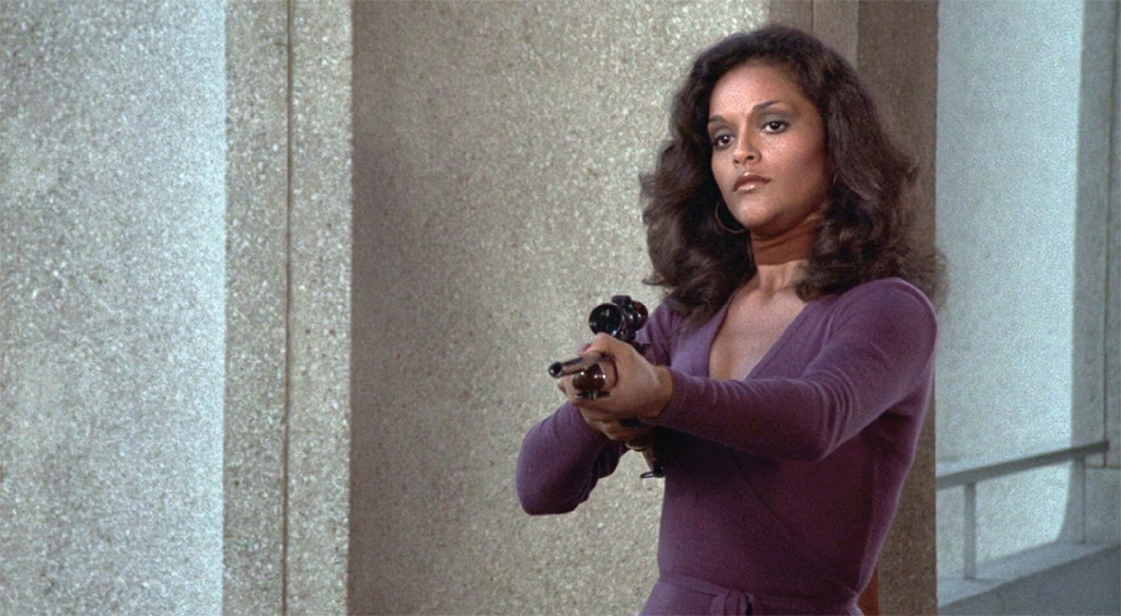 "Wonder Woman, 1975–79, still from a TV show on ABC and CBS. Season 2, episode 4, ""Knockout."" Carolyn Hamilton