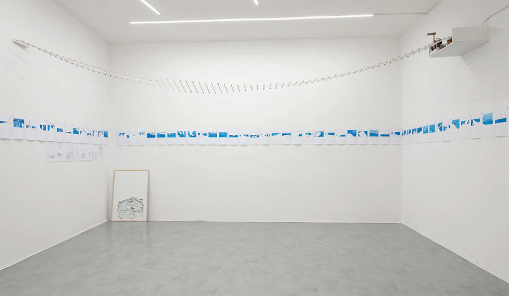 "View of ""Eva Marisaldi,"" 2017–18. Photo: Francesco Ribuffo."