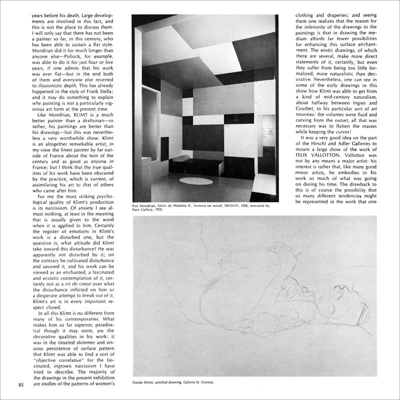 Jerrold Lanes on Felix Vallotton - Artforum International