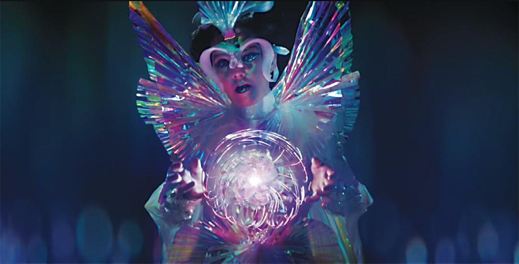 *Still from Björk's 2017 video _The Gate_, directed by Andrew Thomas Huang.* Björk.