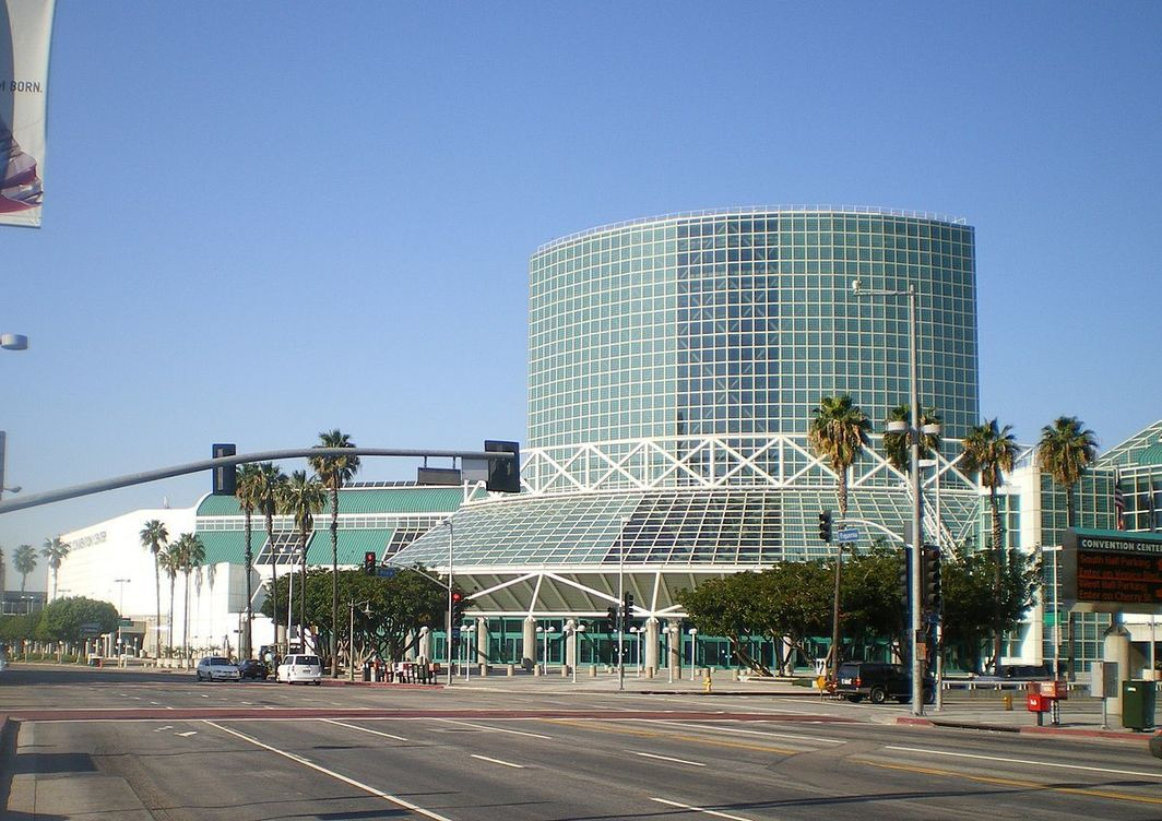 The Los Angeles Convention Center, where the 2018 College Art Association Conference took place.