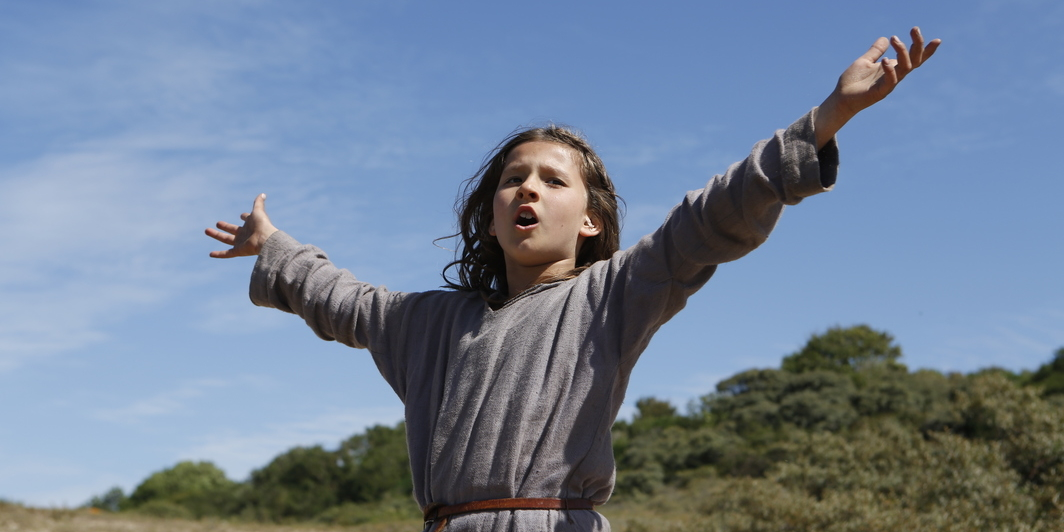 Bruno Dumont, Jeanette, The Childhood of Joan of Arc, 2017, color, sound, 105 minutes. Joan (Lise Leplat Prudhomme).