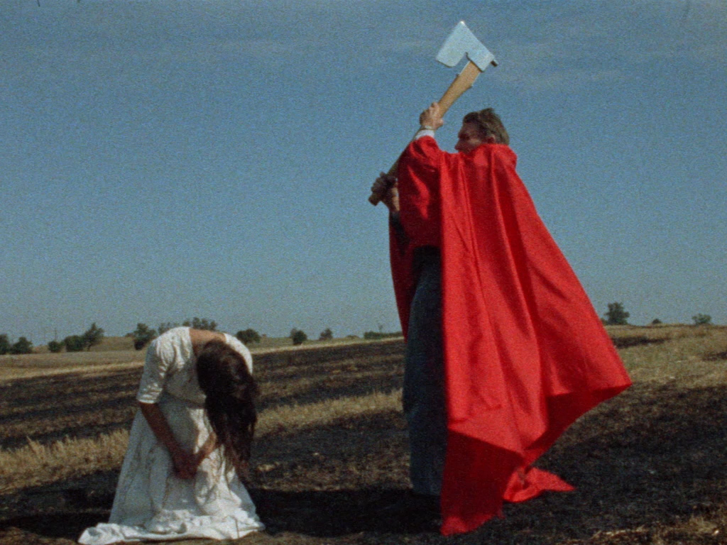Ursula Reuter Christiansen, Skarpretteren (The Executioner), 1971, 16 mm, color, sound, 35 minutes.