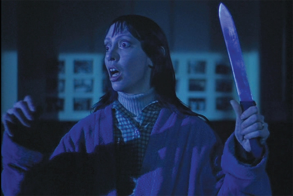 Stanley Kubrick, The Shining, 1980, 35 mm, color, sound, 146 minutes. Wendy Torrance (Shelley Duvall).