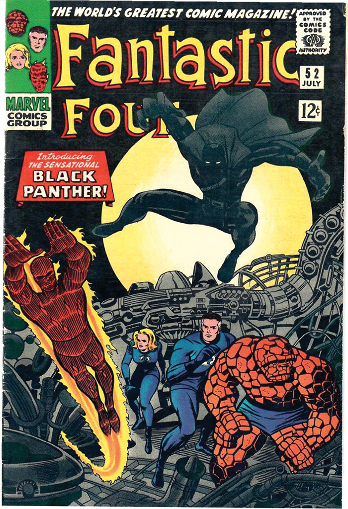 Cover of Jack Kirby and Stan Lee's Fantastic Four, no. 52 (Marvel, July 1966).
