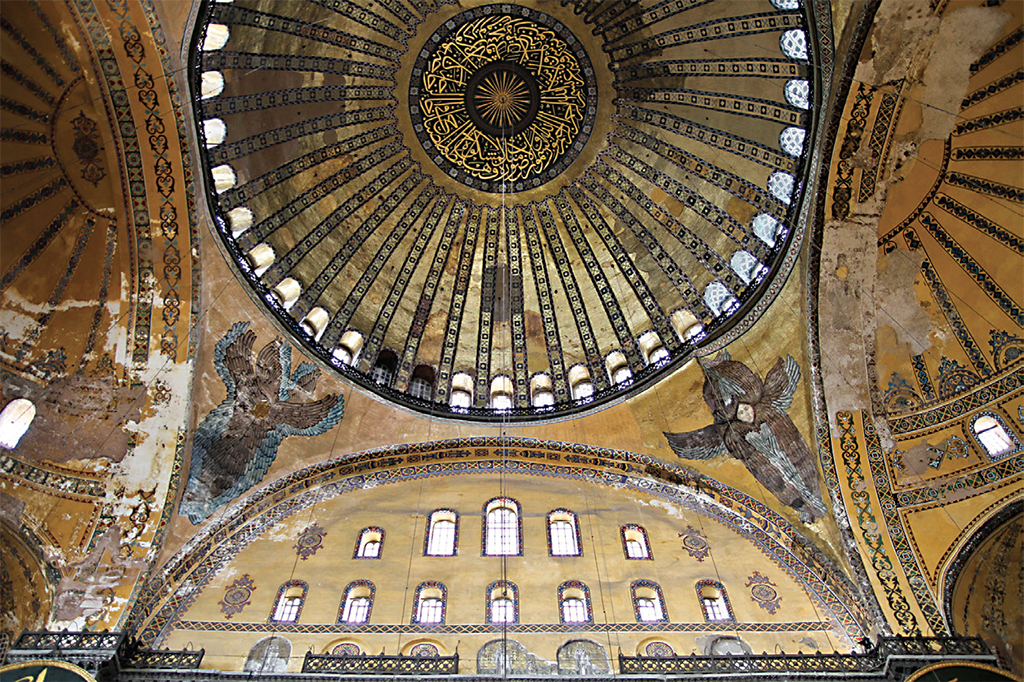 *Hagia Sophia, Istanbul, July 20, 2011.* Photo: Winston Bharat/Flickr.