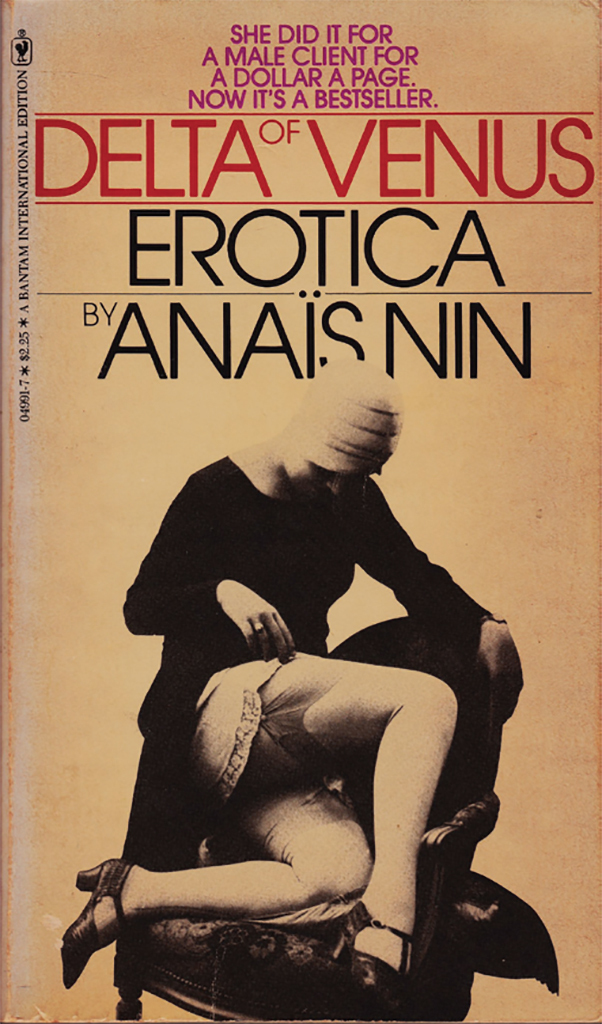 *Cover of a 1978 edition of Anaïs Nin's _Delta of Venus_, 1977.*