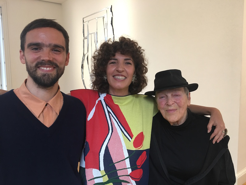 Alessandro Teoldi, Irene Crocco, and Marion Baruch.