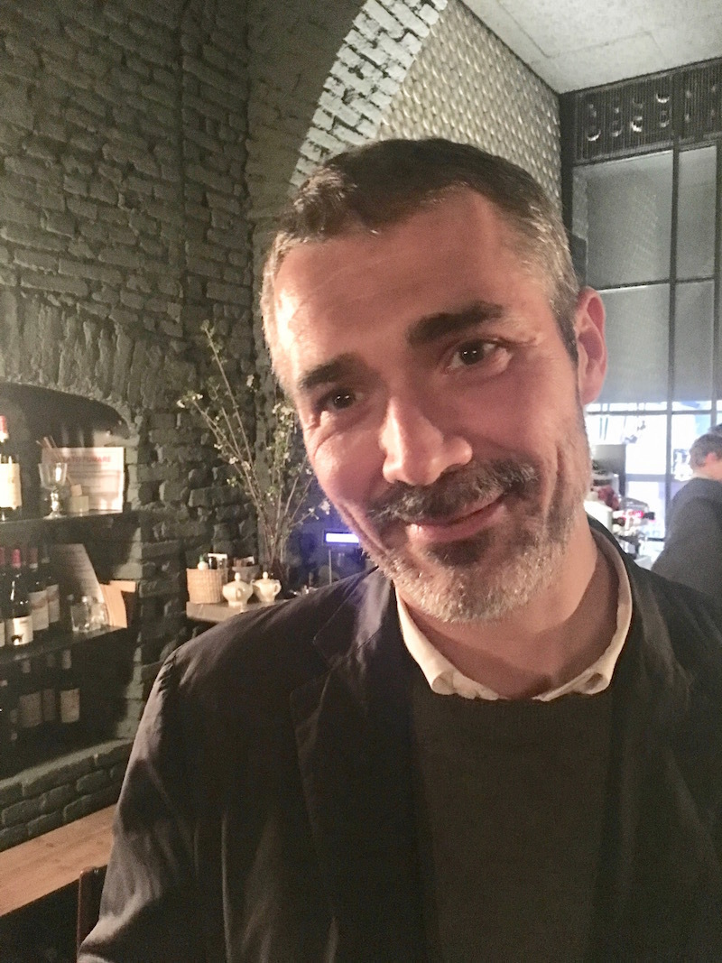 Francesco Stocchi, curator of modern and contemporary art at Museum Boijmans Van Beuningen in Rotterdam and the Fondazione Carriero in Milan.