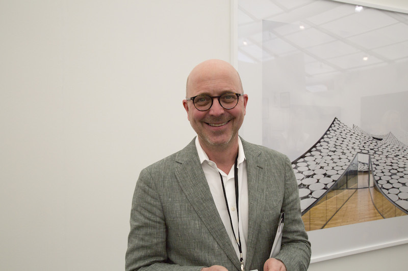 Jeffrey Grove, director at Sean Kelly Gallery.