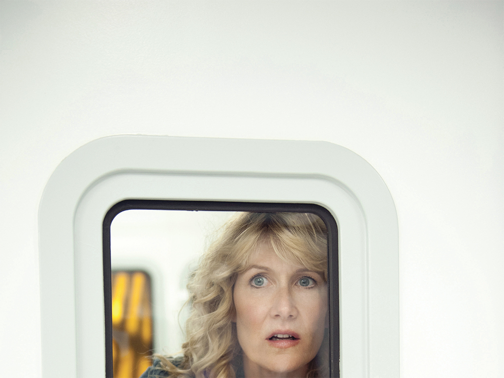 "Enlightened, 2011–13, production still from a TV show on HBO. Season 2, episode 8, ""Agent of Change."" Amy Jellicoe (Laura Dern)."